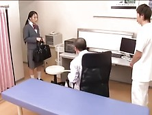 Medical Scene Of Young Na. Ve Asian Sweetie Getting Checked By Tw