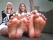 Double Smelly Feet Posing