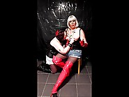 Mistress Chrissie Plays With Katrinas Tits Tied Up!