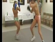 Tiffany Vs.  Antonia Nude Trib Boxing
