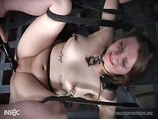 Esclava Atada Masturbada Brutalmente Con Un Vibrador Por Su Amo