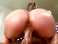 Hardcore Action As This Beautiful Blonde Babe With A Huge Ass Ge