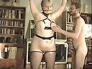 Home Bondage For Busty Wife