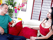 Fat Cock For Portia Harlow's Skillful Warm Pair Of Lips