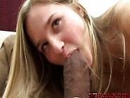 Barely Legal 18 Year Old Takes Huge Black Cock