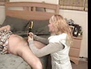 Porn Tube He Better Cum Or She Will Cut Off His Cock.. Rdl