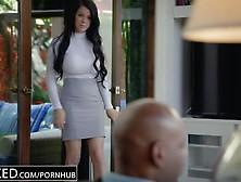 Peta Jensen - Big Boob Secretary Does Her Black Boss Blacked