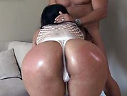 Big Latin Ass Gets Fucked And Spanked