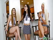 Threesome Fuck After School