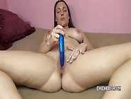 Horny Big Titted Milf Melanie Hicks Loves Teasing Her Clit And P