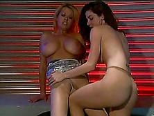 Pretty Kayla Paige And Carolyn Monroe Have Lesbian Sex