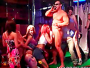 Drunk Party Hoes Gangbanged By Orgy Strippers