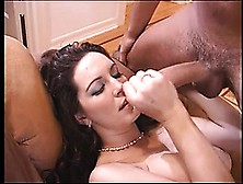 Pretty Female With Big Natural Jugs Taylor St.  Claire Gives Her