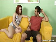 Sexy Red Head Kayla Loves To Fuck Her Man