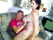 Cock-Hungry German Granny Liana B.  Is Crazy For Cock
