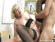 Mature Russian Teacher Imparts Her Sexual Knowledge To A Boy