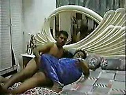 Horny Nephew Convinces His Aunty To Sleep With Him.  Watch As He
