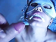Sucking And Titfucking My Bf's Prick And Getting Facialed Hard