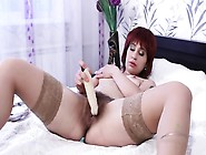 Hairy Mommy With Stockings