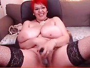 Big Boobs Stockings Solo Amateur