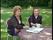 French Mature Gets Big Cock And Piss