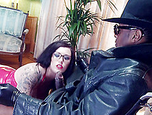 Yuffie Yulan Is Flaming Hot Wearing Glasses And Receives A Black