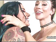 Jenevieve Hexxx Seduces Her Hipster Girl Into Lesbian Action