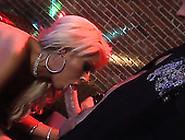 Masked Men Bang Raylene,  Kirsten Price,  Devon Lee,  Bridgette B,