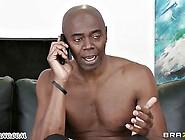 Negro Pokes Sexy Adult Beauty