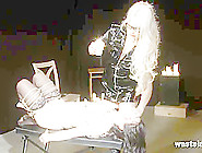 Femdom Lesbian Action With Candle Wax Ropes And Toys