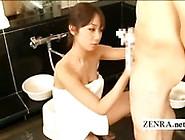 Cfnm Themed Strange Japanese Bathhouse Penis Washing
