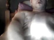 Hot Daddy Bear Jerking Off Twice