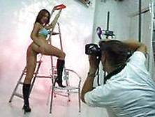 Simony Diamond Fucking Hot Photoshoot!