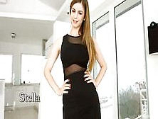 Gorgeous Model Stella Cox Firsttime Anal Sex