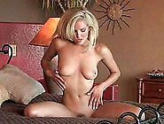 Pretty Liz Ashley Showing Her Nude Body Sitting On A Bed
