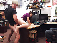 Brave Lesbian Girl Sucked Huge Cock In The Shop
