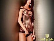 Sexy Indian Babe In Fishnet Mini Panty Strip ~ Ṗ�ᴉȳⱥ Y�ūn�