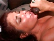 Slutty Redhead Milf Satisfies Three Guys
