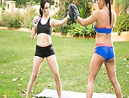 Sparring Makes These Young Lesbians Really Horny