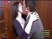 Asian Brunette Is Having Steamy Sex With Her Boss,  Because She I