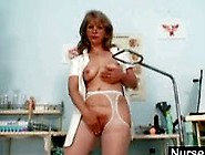 Filthy Old Mom In Uniform Wild Masturbation