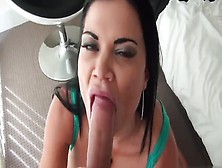 Brunette Amateur Jasmine Jae With Hot Fat Ass Taking Part In But