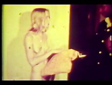 Hairy Blond Teen Sucks Fucks Huge 12 Inch Bbc-1970 Vintage