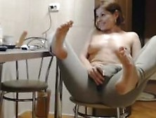 Milf Housewife Move Her Toes.  Ethel Live On 720Cams. Com