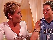 Julie Mandrews Enjoys Having Her Mature Cunt Devoured By A Young
