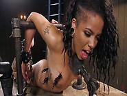 Ebony Babe Jessica Creepshow Is Punished By One Kinky Dude