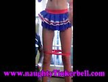 Naughty Tinkerbell Pussy,  Clit & Nipples Torture (Part One)