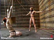 Good Looking Bdsm Slave Kylie Wilde And Her Gf