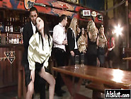 Crazy Sex Party In The Bar