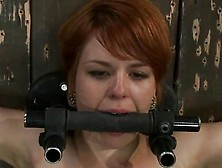 Red Head Beauty Juliette March Forced To Peak Constrained And To